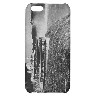 Tashmoo Over Niagra Falls Vintage Trick Photo iPhone 5C Cover