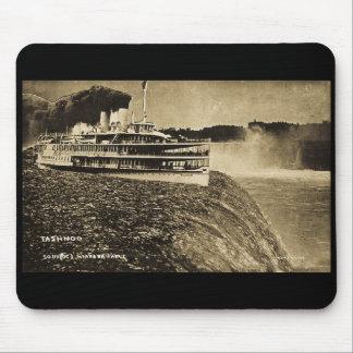 Tashmoo Over Niagra Falls Vintage Trick Photo Mousepad
