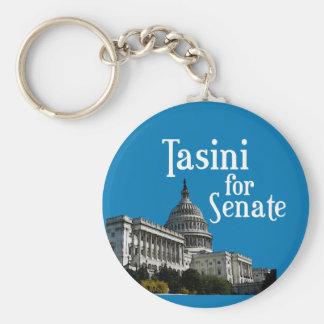 Tasini for Senate Campaign Keychain