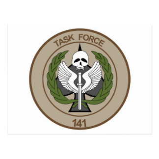 TASK FORCE 141 POSTCARD