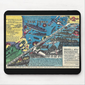 Task Force!  Helen of Toy  Comic Book Ad Mouse Pad