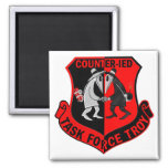 Task Force Troy CIED 2 Inch Square Magnet