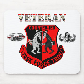 Task Force Troy Counter IED OIF C-IED Mouse Pad