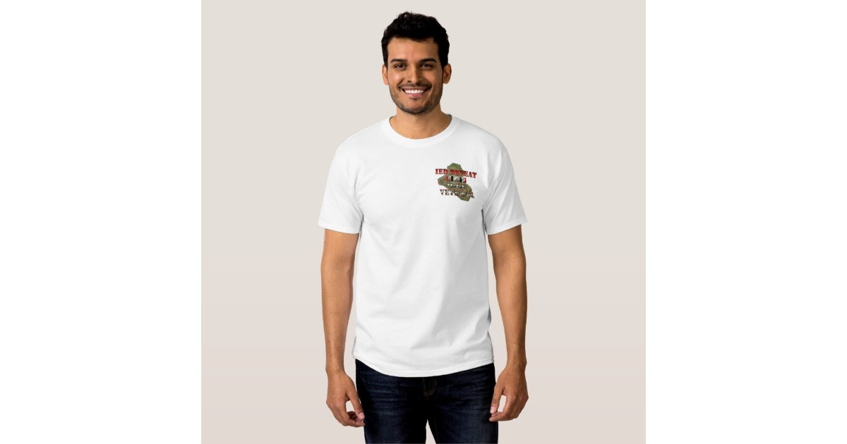 Task Force Troy Counter IED OIF T-Shirt   Zazzle