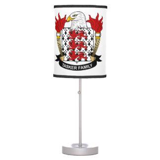 Tasker Family Crest Table Lamps