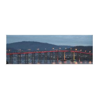 TASMAN BRIDGE HOBART TASMANIA AUSTRALIA CANVAS PRINT