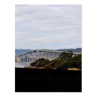 TASMAN BRIDGE HOBART TASMANIA AUSTRALIA POSTCARD