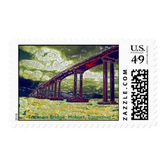 Tasman Bridge Hobart Tasmania Postage Stamp