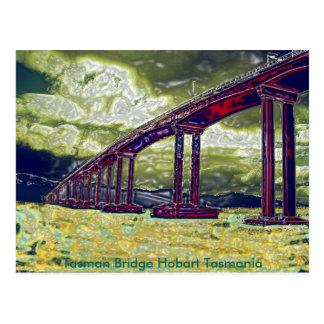Tasman Bridge Hobart Tasmania Postcard