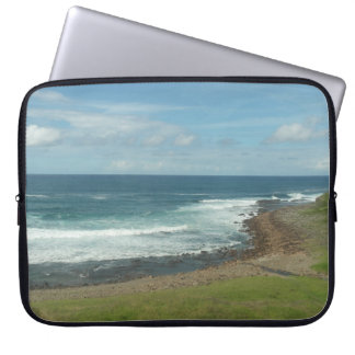 Tasman Sea View From CityRail Train Laptop Sleeve