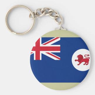 Tasmania, Australia Basic Round Button Keychain