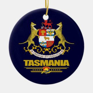 Tasmania COA Ceramic Ornament