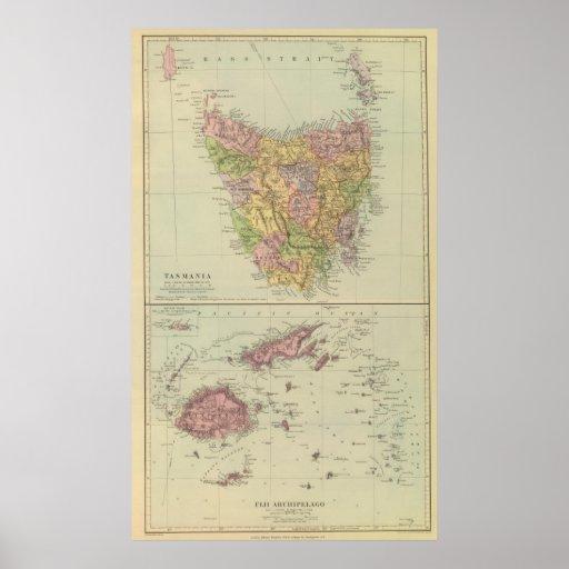 Tasmania, Fiji Póster