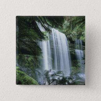 Tasmania, Mt. Field National Park, Russell Falls Button