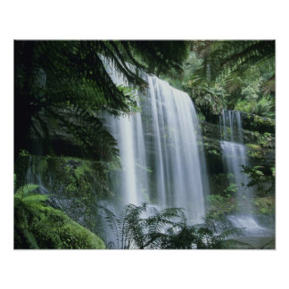 Tasmania, Mt. Field National Park, Russell Falls Poster