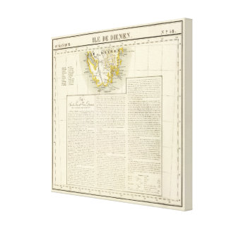 Tasmania Oceania no 58 Canvas Print