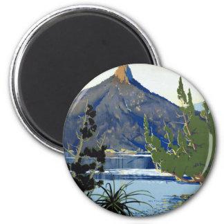 Tasmania ~ Switzerland of the South 2 Inch Round Magnet