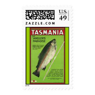 Tasmania The anglers paradise Postage