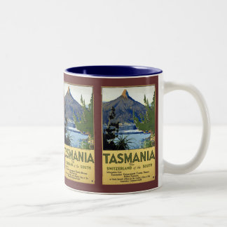 Tasmania Two-Tone Coffee Mug