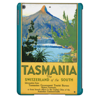 Tasmania Vintage Travel Poster Restored Cover For iPad Air