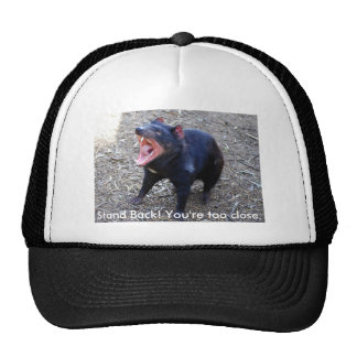 Tasmanian Devil h--  Stand Back! You're too close. Trucker Hat