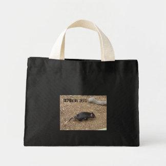 Tasmanian Devil Mini Tote Bag