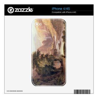 Tasmanian Gorge (w/c) iPhone 4S Skin