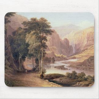 Tasmanian Gorge (w/c) Mouse Pad
