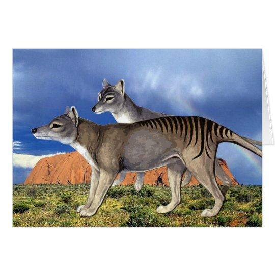 Tasmanian Tiger Card