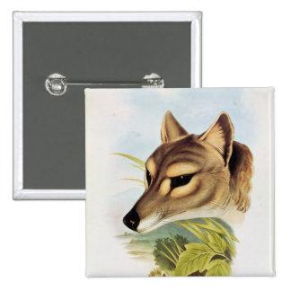 Tasmanian Wolf or Tiger Button