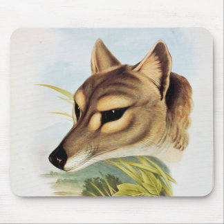 Tasmanian Wolf or Tiger Mouse Pad