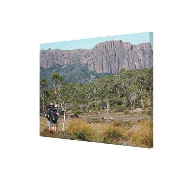 Beach Themed Tasmania's Overland Track Canvas Print