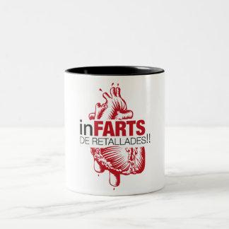Tassa infarts of retallades coffee mugs