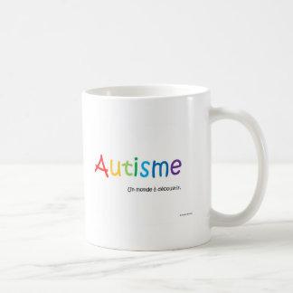 Tasse Autisme un monde à découvrir Coffee Mug