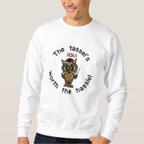 Tassel Grad 20XX Embroidered Sweatshirt