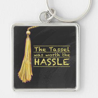 Tassel Hassle Gold Keychain