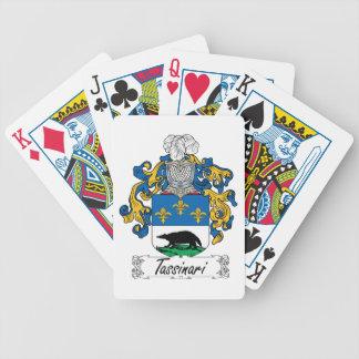 Tassinari Family Crest Poker Cards