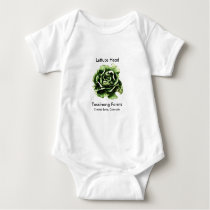 Tassinong Farms Lettuce Head Baby One Piece Baby Bodysuit