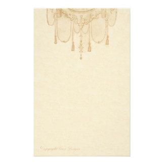 Tassles en efectos de escritorio del oro papeleria