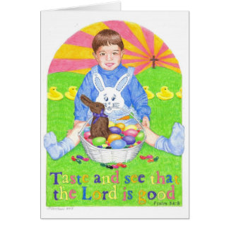 Taste and See Easter Card