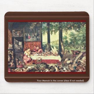 Taste By Bruegel D. Ä. Jan (Best Quality) Mouse Pad
