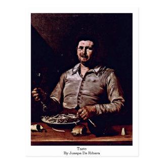 Taste By Jusepe De Ribera Postcard