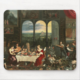 Taste, Hearing and Touch, 1618 Mouse Pad