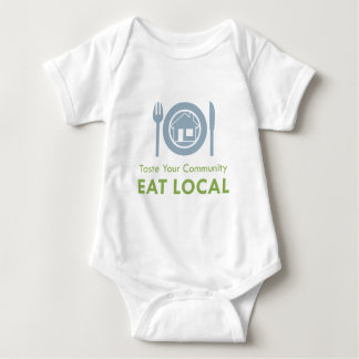 Taste Local Baby Bodysuit