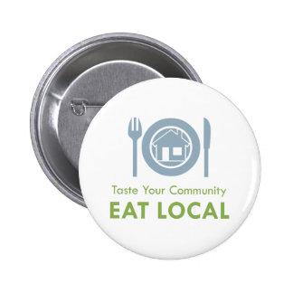 Taste Local Pinback Button