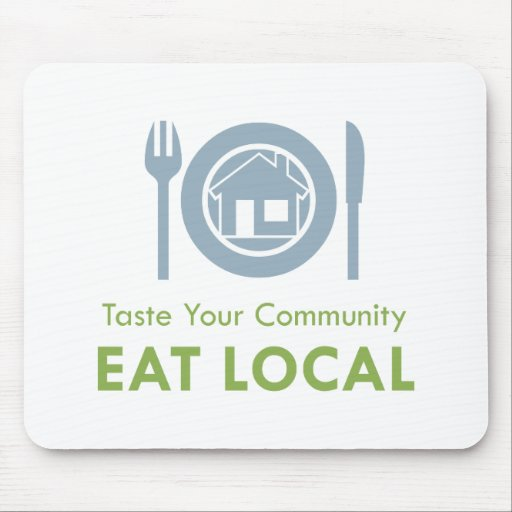 Taste Local Mouse Mat