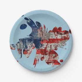 Taste of America 7 Inch Paper Plate
