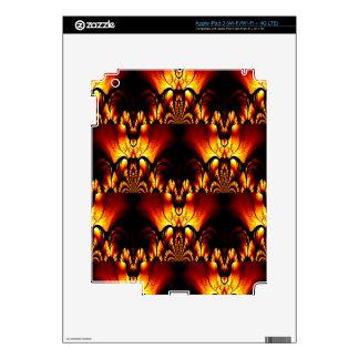Taste of Art Deco Abstract Design iPad 3 Decals