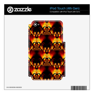 Taste of Art Deco Abstract Design iPod Touch 4G Decals