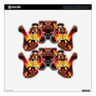 Taste of Art Deco Abstract Design PS3 Controller Decals